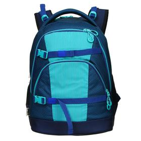 Рюкзак молодёжный, Seventeen, 41 x 29 x 19 см, эргономичная спинка, система роста
