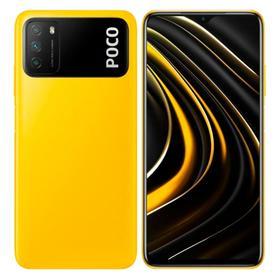 Смартфон Xiaomi POCO M3 (M2010J19CG), 6.53'', IPS, 4Гб, 64Гб, 48 Мп, 8 Мп, 6000 мАч, желтый