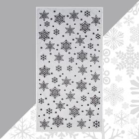 Полотенце махровое Этель «Снежинки» 70х130см, 100% хлопок, 420гр/м2
