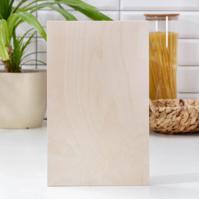 Cutting Board, 30×18,5×0,8 cm