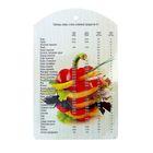 Доска разделочная с декором «Мера весов», 30×18,5×0,8 см