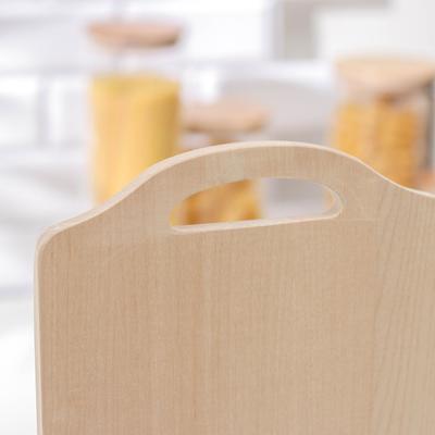 Доска разделочная «Коромысло», берёза, 38×22×1 см