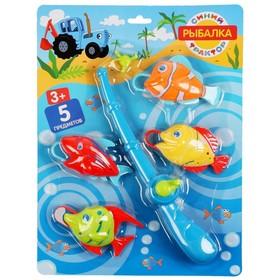 Игра рыбалка «Синий трактор»