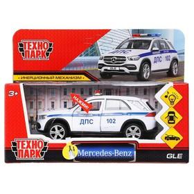 Машина металлическая «Mercedes-Benz GLE полиция», 12 см, световые и звуковые эффекты, открываются двери и багажник