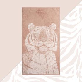"""Полотенце махровое """"Этель"""" Тигр 50х90см, 100% хлопок, 420гр/м2"""