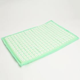 Ипликатор -коврик  450*670  зеленый в бархатном чехле