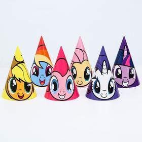 """Колпак бумажный """"С Днем Рождения"""", My Little Pony"""