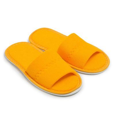 Тапочки женские, цвет жёлтый, размер 36-38