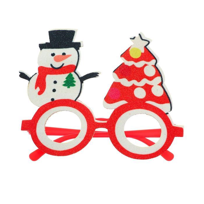 Карнавальные очки «Новый год» - фото 2958625