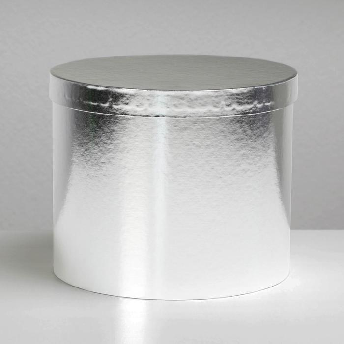 Коробка подарочная «Серебро», 18x15 см - фото 3391703