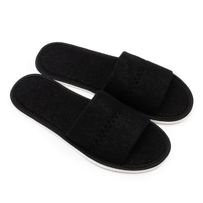 Тапочки мужские, цвет чёрный, размер 42-45