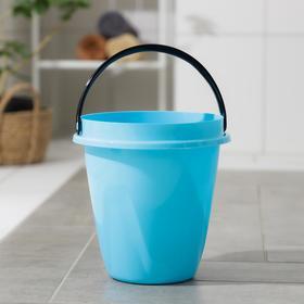 Ведро «Лайт», 5 л, цвет голубой