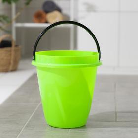 Ведро «Лайт», 5 л, цвет зелёный
