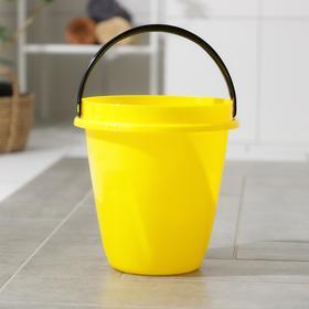 Ведро «Лайт», 10 л, цвет жёлтый