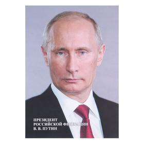 """Плакат """"Портрет Президента РФ"""" А4"""