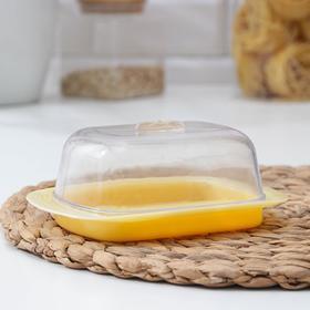 {{photo.Alt || photo.Description || 'Маслёнка Verona, 17×11,5×7 см, цвет бледно-жёлтый'}}