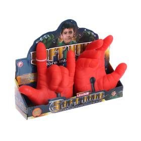 Накладки на руки «Красный супергерой»