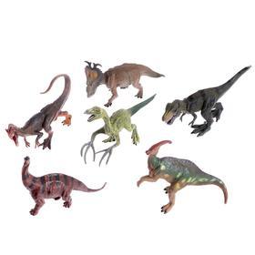 Набор динозавров «Юрский период», 6 фигурок