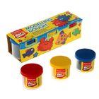Пластилин на растительной основе набор 3 цвета*100г Modelling Dough №1 карт/рукав 3271