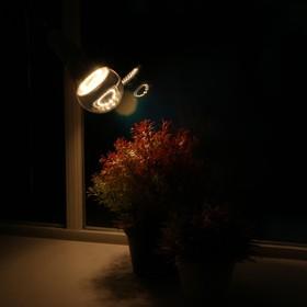 Светодиодная лампа для растений ( фитолампа дневного света ) Luazon 12 Вт, E27, 220В