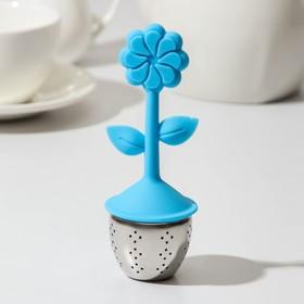 {{photo.Alt || photo.Description || 'Ситечко для чая «Цветок», нержавеющая сталь, цвет МИКС'}}