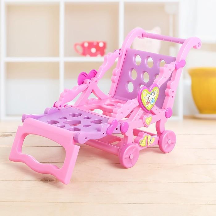 Кресло-тележка для куклы, 2 в 1