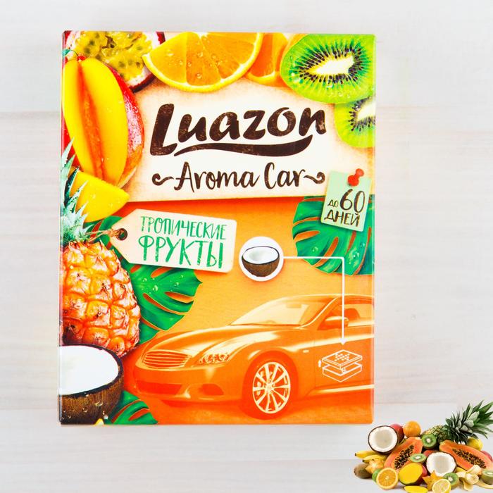 """Ароматизатор под сиденье авто """"Aroma Car"""", тропические фрукты"""