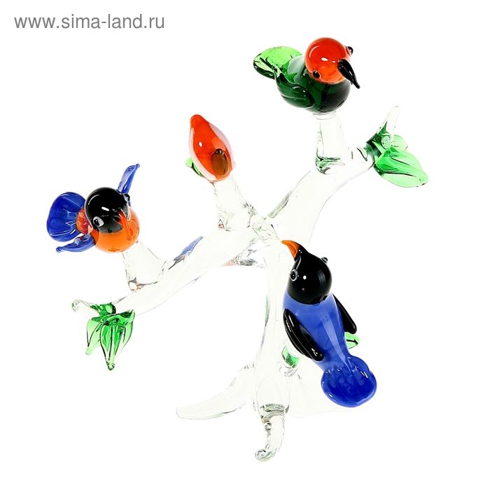 "Сувенир ""Три птицы на ветке"""