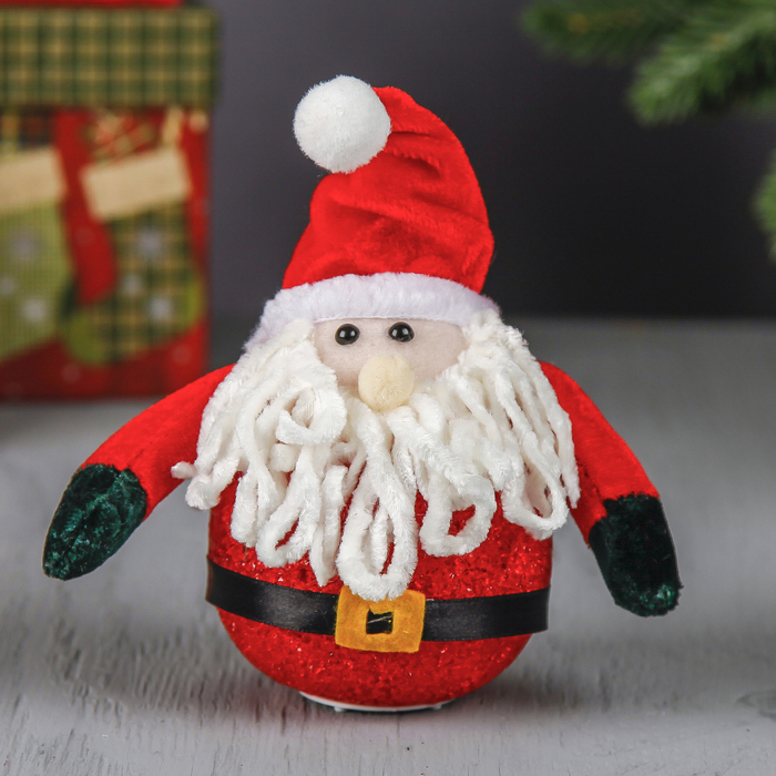 "Ёлочная световая игрушка ""Красавец Дед Мороз"""