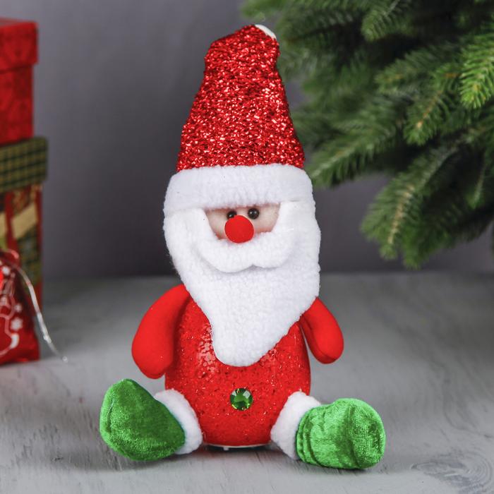 """Световая игрушка """"Дед Мороз в валенках"""""""