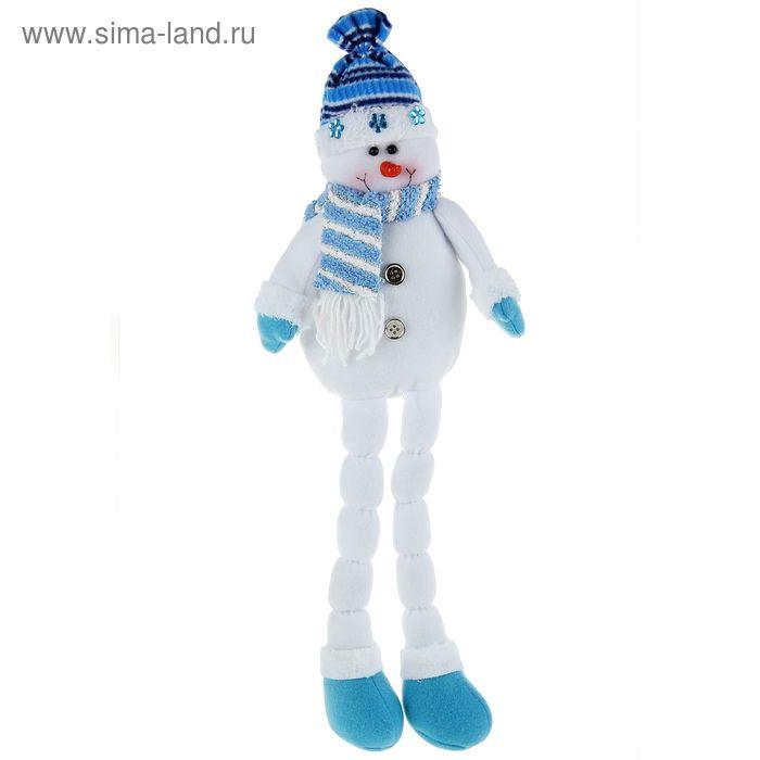 "Мягкая игрушка ""Снеговик с ножками-снежками"""
