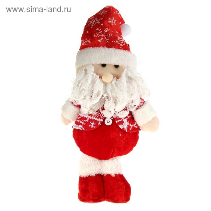 """Мягкая игрушка """"Дед Мороз в жилетке"""" (скандинавский стиль)"""