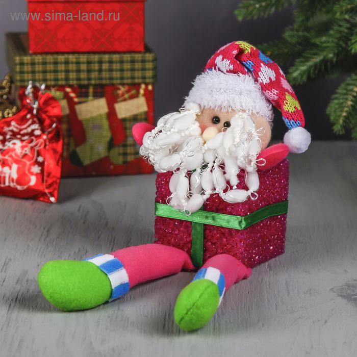 """Световая игрушка """"Дед Мороз-подарок"""""""