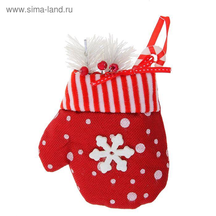 "Варежка для подарка ""Снегопад"" (с гостинцами)"