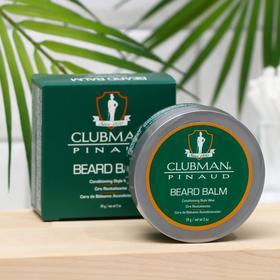 Воск-бальзам для бороды, Clubman Beard Balm, 59 гр