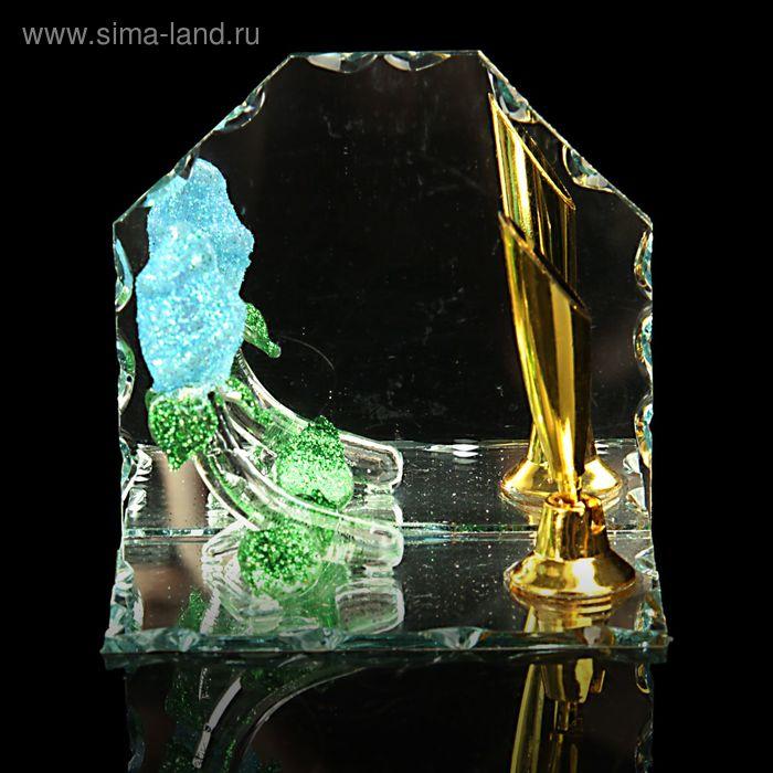 "Сувенир ""Роза"" с подставкой для ручки, МИКС"