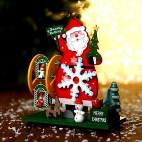 Новогодний сувенир «Дед Мороз» 21.5 × 10 × 24 см