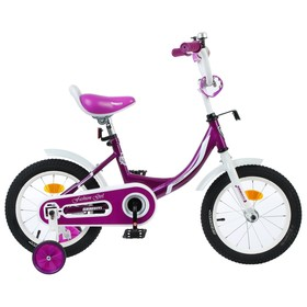 "Велосипед 12"" Graffiti Fashion Girl, цвет бордовый"