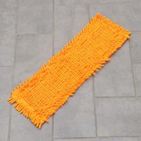 Насадка для плоской швабры Доляна, 49×16 см, микрофибра
