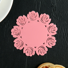 """A set of coasters under hot, 4 pieces, 10 cm """"Summer house"""", MIX colors"""