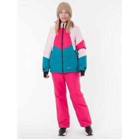 Комплект для девочки, рост 134 см, цвет розовый
