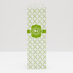 """Пакет бумажный фасовочный """"Вилка/Ложка"""", V-образное дно, 7 х 26 см"""