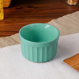 Форма для выпечки «Рамекин», фисташковый цвет, керамика, 0,2 л