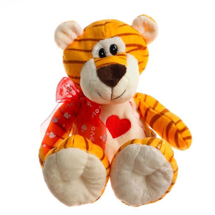 Мягкая игрушка «Тигрёнок», с сердцем