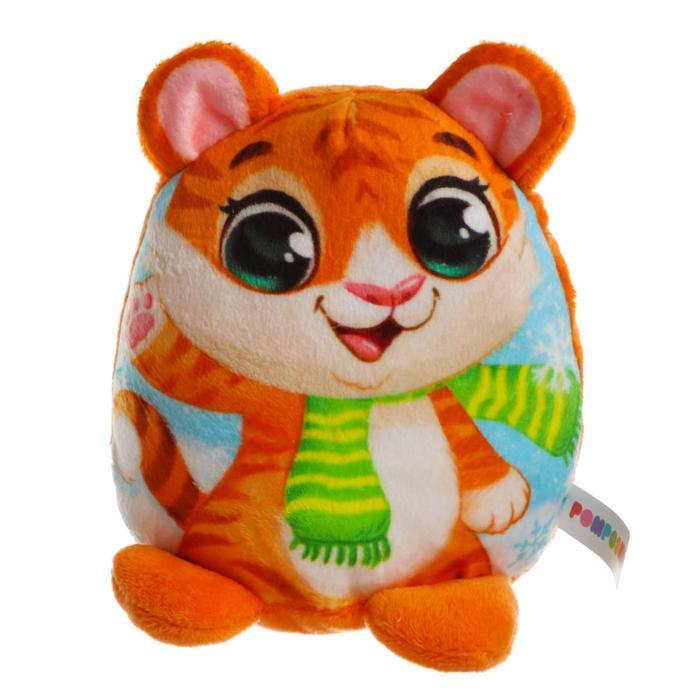 Мягкая игрушка «Новогодний тигрёнок» - фото 3014230
