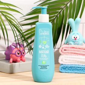 Мягкий гель для очищения волос и тела младенца, Baby Balance,  250 мл