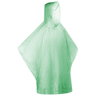 Дождевик зелёный в пластиковом футляре с карабином, d-6,4 см