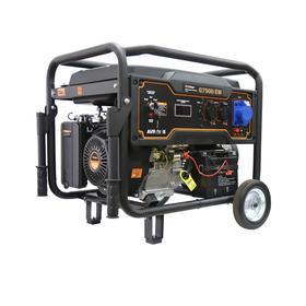 Бензиновый генератор FoxWeld Expert G7500 EW, 6.5 кВт, 15 л.с, 3х220 В, 12 В, электропуск