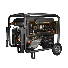 Бензиновый генератор FoxWeld Expert G8500 EW, 7.5 кВт, 3х220 В/16 А, 12 В, электропуск