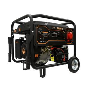 Бензиновый генератор FoxWeld Expert G9500-3, 8 кВт, 3х220 В/2х16,32 А, 12 В, электропуск